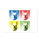 Frenchie Pop Art Postcards (Package of 8)