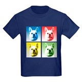 Frenchie Pop Art T