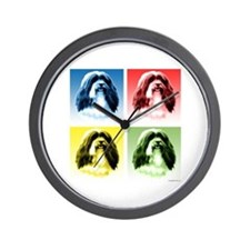Havanese Pop Art Wall Clock