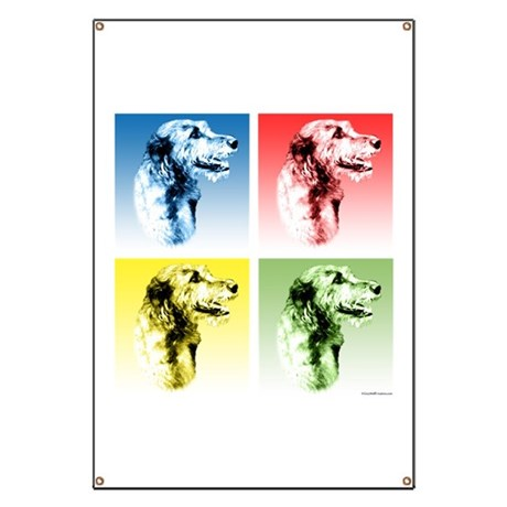 Wolfhound Pop Art Banner