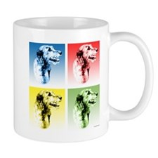 Wolfhound Pop Art Mug