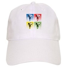 Wolfhound Pop Art Baseball Cap