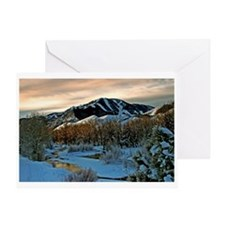 Baldy Sunrise Greeting Card