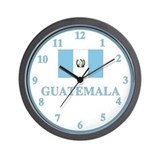 Guatemala Flag Wall Clock