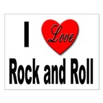 I Love Rock and Roll Small Poster