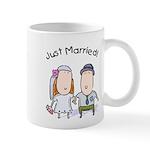 Cartoon Just Married Mug