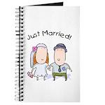 Cartoon Just Married Journal