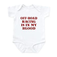 Off-Road Racing Infant Bodysuit