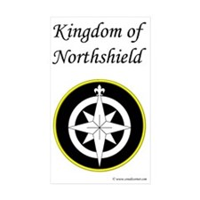 Northshield Populace Rectangle Sticker 50 pk)