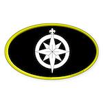 Northshield Populace Oval Sticker (50 pk)