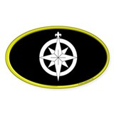 Northshield Populace Oval Sticker (10 pk)