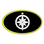Northshield Populace Oval Sticker