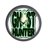 Ghost Hunter Wall Clock