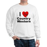I Love Country Western (Front) Jumper