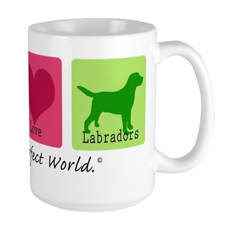 Peace Love Labs Large Mug