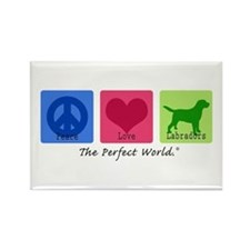 Peace Love Labs Rectangle Magnet