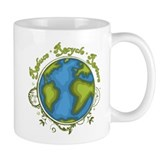 Earth Vine - Recycle - Reduce - Restore Coffee Mug