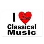 I Love Classical Music Postcards (Package of 8)