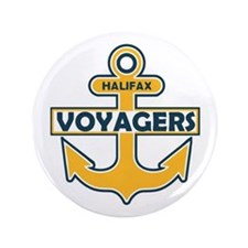 "Halifax Voyagers 3.5"" Button"