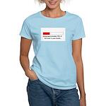 CAPACITY IN WOMB Women's Light T-Shirt