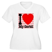 I Love My Gerbil T-Shirt