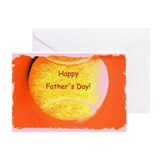 Father's Day Tennis Ball Greeting Card (Y/O)