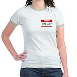 BITE ME Jr. Ringer T-Shirt