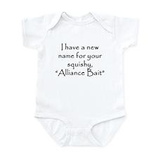Alliance Bait Infant Bodysuit