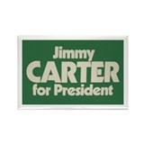 Carter for President Rectangle Magnet