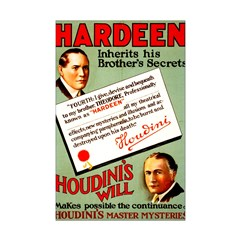 Hardeen Magician Posters