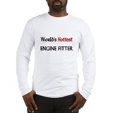 World's Hottest Engine Fitter Long Sleeve T-Shirt