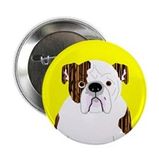 "Bully (Brindle) 2.25"" Button (10 pack)"