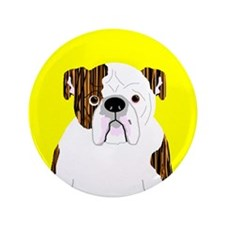 "Bully (Brindle) 3.5"" Button (100 pack)"