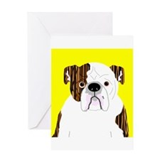 Bully (Brindle) Greeting Card