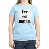 I've Got Rhythms Women's Pink T-Shirt