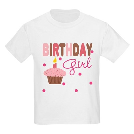 Birthday Girl Girls Tee Kids Light T-Shirt