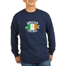 Bronx Irish on dark apparel T