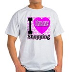 I Love Online Shopping Light T-Shirt