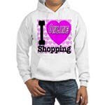 I Love Online Shopping Hooded Sweatshirt