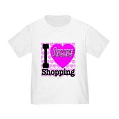 I Love Online Shopping Toddler T-Shirt