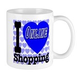 I Love Online Shopping Mug