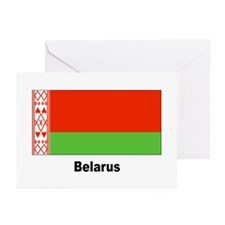 Belarus Flag Greeting Cards (Pk of 20)