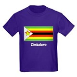 Zimbabwe Flag T