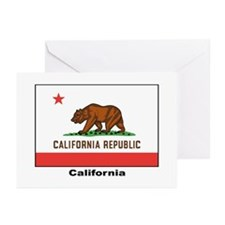 California State Flag Greeting Cards (Pk of 20)