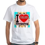 I Love Online Shopping White T-Shirt