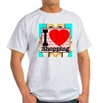 Express Your Passion For Shopping Light T-Shirt