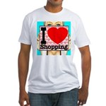 Express Your Passion For Shopping Fitted T-Shirt