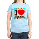 Express Your Passion For Shopping Women's Light T-