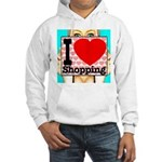 Express Your Passion For Shopping Hooded Sweatshir