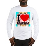 Express Your Passion For Shopping Long Sleeve T-Sh